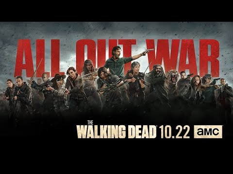 """The Walking Dead Season 8 Promo """"All Out War"""" [FM]"""