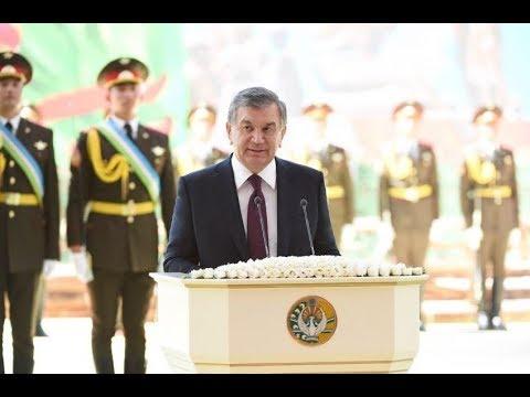Prezident Sh.Mirziyoyev 9-may kuni / Президент Ш.Мирзиёев 9 мая (\