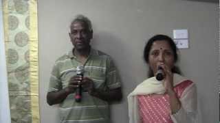 Maasila Unmai Kadale Karaoke sung By Usha Ravi and Victor