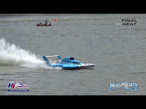 Watch U-1 driver Jimmy Shane win the H1 Unlimited Hydroplane