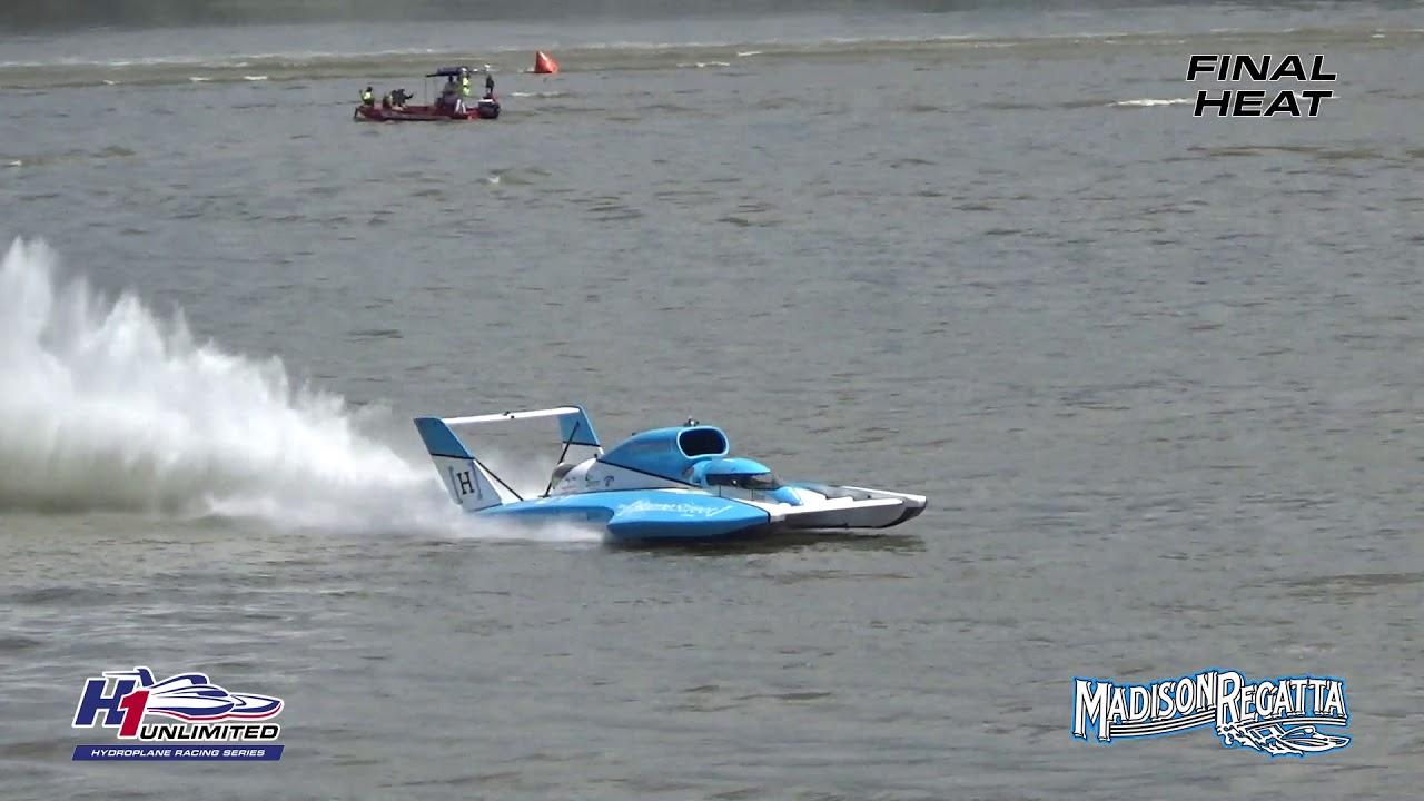 Watch U-1 driver Jimmy Shane win the H1 Unlimited Hydroplane race in