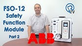 ABB FSO-12 Safety Function Module Part 1 - YouTube