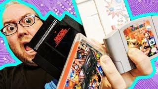 MARIO PARTY 64 HACK! Famicom Converter, Custom multicarts + more! - UNBOXING