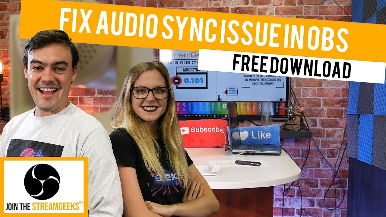 How to fix audio sync issues in OBS with the New OBS Audio & Video Sync Tool