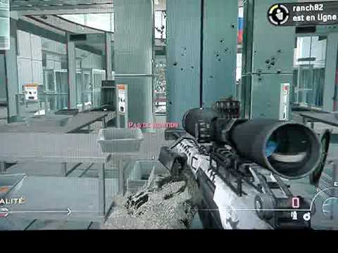 xbox 360 rapid fire rt manette sur mw2 youtube. Black Bedroom Furniture Sets. Home Design Ideas