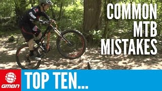Top 10 Common Mountain Biking Mistakes – MTB Skills(Here are ten of the most common mountain biking mistakes and how to solve them. Subscribe to GMBN: http://gmbn.eu/Subscribe This video has ten of the more ..., 2015-06-02T13:59:13.000Z)