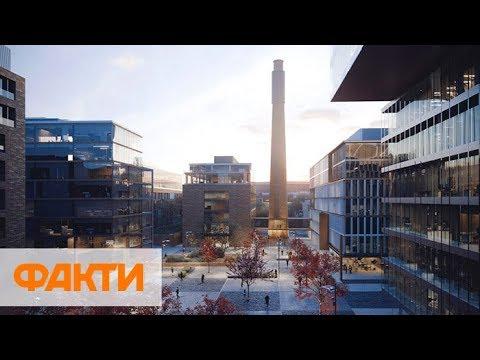 UNIT.City превратил заброшенный мотозавод в Киеве в город будущего