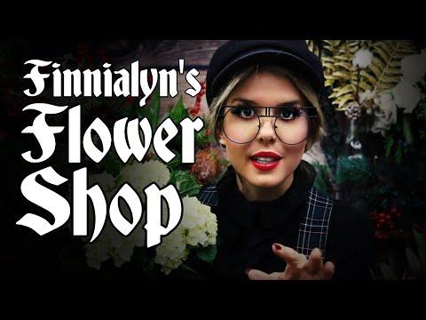 Finnialyn's Flower Shop/ASMR Fantasy Roleplay/Making You a Festive Bouquet in Kellswake