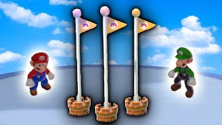 Messing with Goal Poles in Super Mario 3D World