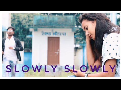 Download Lagu  Slowly Slowly vs Ishare Tere | Guru Randhawa |Cute Love Story Mp3 Free