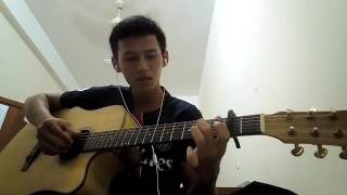 Đoạn buồn cho tôi guitar căn bản mới tập.