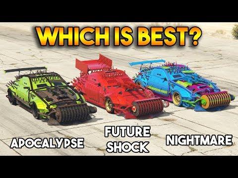 GTA 5 ONLINE : APOCALYPSE VS NIGHTMARE VS FUTURE SHOCK (WHICH IS BEST?)