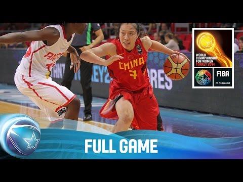 Angola v China - Full Game - Group D - 2014 FIBA World Championship for Women