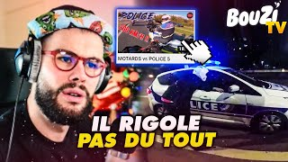 JE REAGIS A DES VIDEOS MOTARDS vs POLICE #2 !