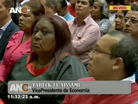 Asamblea Nacional Constituyente, sesión completa 2 agosto 2018, Ley Ilícitos Cambiarios