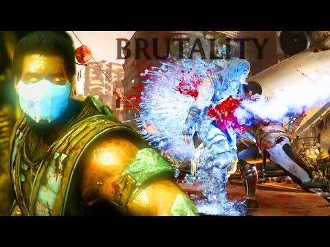 "I GOT THE SECRET SUB ZERO BRUTALITY! Mortal Kombat X ""Sub Zero"" Gameplay"