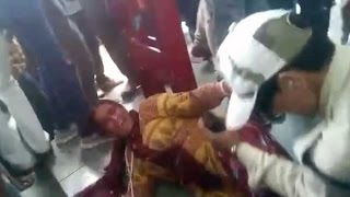 Two Women Beaten Up for Carrying Beef - Cops Watch | Caught on Camera