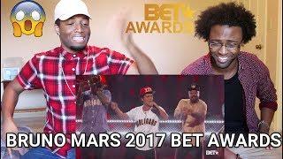 "BRUNO MARS - 2017 BET AWARDS PERFORMANCE OF ""PERM"" (REACTION)"