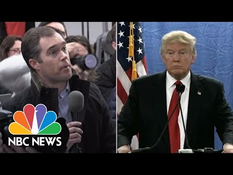Donald Trump Spars With Peter Alexander Over Trump's Record On Abortion | NBC News
