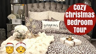 COZY CHRISTMAS BEDROOM TOUR