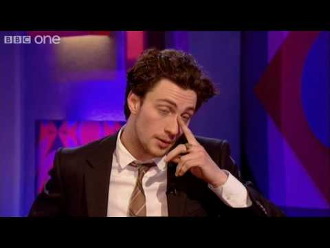 Thumbnail: Aaron Johnson on Sam Taylor-Wood - Friday Night with Jonathan Ross - BBC One