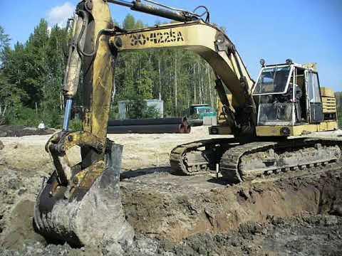 Russian excavator EO-4225A Экскаватор ЭО-4225