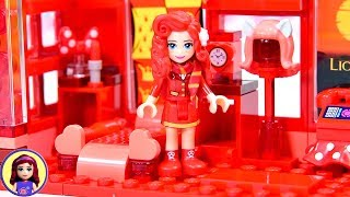 I totally struggled with the Too Much Red Lego build challenge