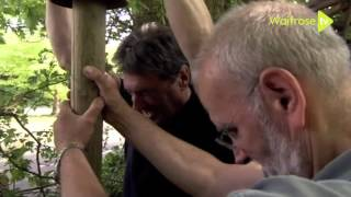 How To Put Up A Rustic Fence - Waitrose Garden