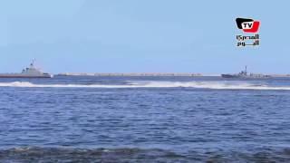 القوات البحرية تحتفل بذكرى أكتوبر بـ«عرض بحرى» كبير