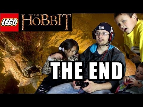 Lets Play Lego Hobbit: THE END! Golden Smaug Final Boss Battle!  Face Cam w/ EASTER CANDY!