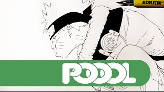 Naruto Speed Lineart
