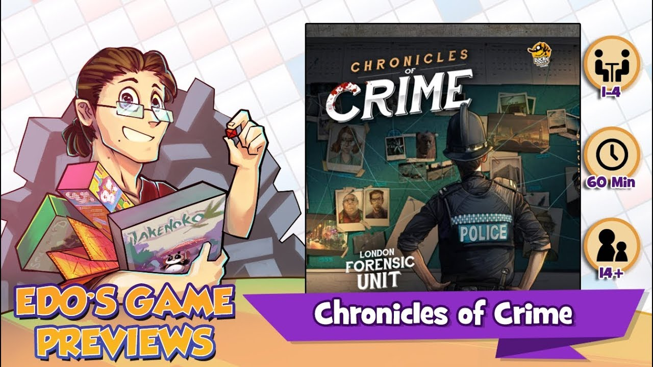 Lucky Duck Games - Chronicles of Crime