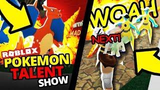 Pokemon Talent Show! (Roblox Pokemon Fighters EX)