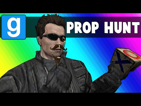 Gmod Prop Hunt Funny Moments - Terroriser Spots in a Broken Map (Garry's Mod)