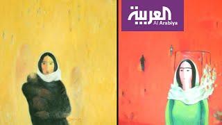 روافد | محطات الألم والأمل في رحلة الفنان التشكيلي السوري بشار العيسى