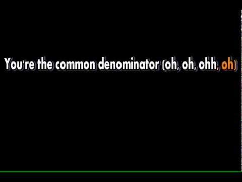 Justin Bieber Common Denominator - Karaokê / Instrumental