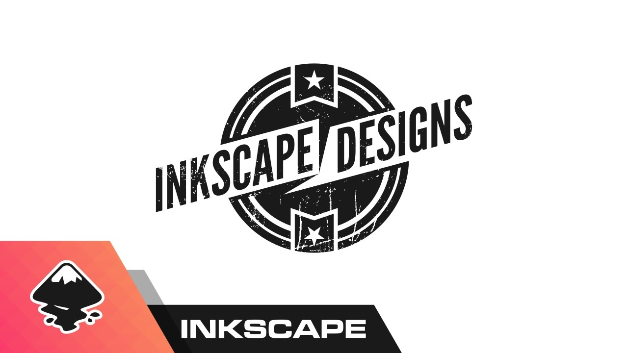 Inkscape Tutorial Design A Logo Youtube