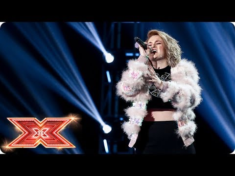Grace Davies wows with her original song Do It Better | Six Chair Challenge | The X Factor 2017