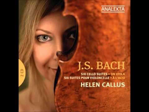 J. S. Bach: Suite No.4 in E flat major BWV 1010 - Helen Callus
