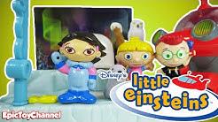 LITTLE EINSTEINS Disney Alaska Mission Playset + Pat Pat Rocket June Annie Leo by EpicToyChannel