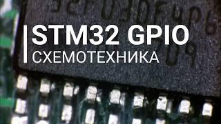 GPIO STM32 Схемотехника портов ввода-вывода