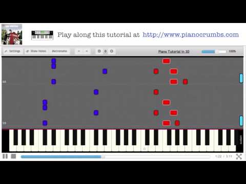 """One Direction - She's Not Afraid (""""Take Me Home"""" album) - Piano Tutorial"""