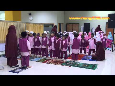 Latihan Sholat-TK-AIS (AL-KAHFI ISLAMIC SCHOOL) BATAM Indonesia-Belajar Sholat Berjama'ah