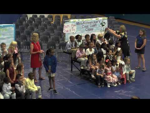 Chalmette Elementary School presents...Kindergarten Recognition Day (May 23, 2018) HD