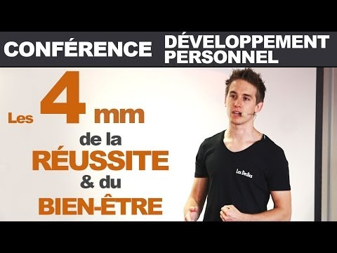 Conférence développement personnel - les 4 mm