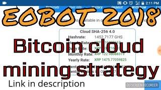 EOBOT | Cloud Mining Strategy 2018