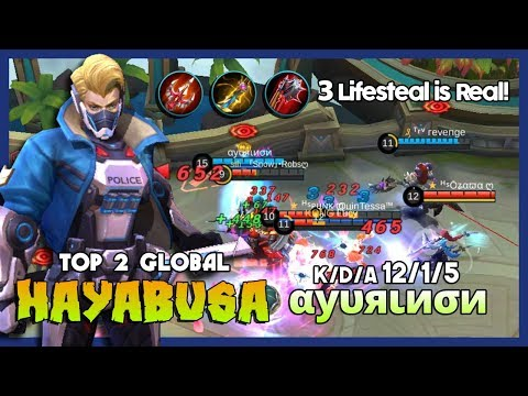 "Shadow is Here! αуυяιиσи Ranked 2 Global Hayabusa ""You Can't Catch a Shadow"" ~ MLBB"