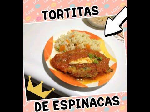 Tortitas de espinaca comida mexicana saludable y for Comidas sanas y economicas