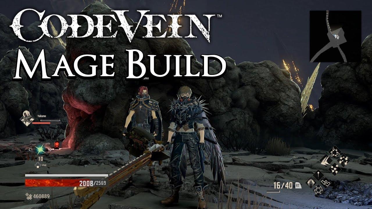 Code Vein - Mage Build - Melt Everything