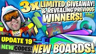 LUCK EVENT & NEW BOARDS ! ALL CODES + LIMITED GIVEAWAY & WINNERS 👻 Roblox Ghost Simulator Update 19
